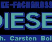 Neuer Sponsor und Getränkelieferant ist der Getränkefachgrosshandel Diesel aus Siegen-Kaan